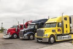 Camions aux Etats-Unis photographie stock
