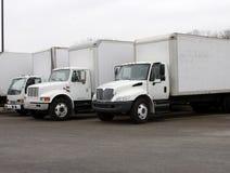 Camions de distribution Photo libre de droits