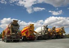 Camions de la colle photos libres de droits