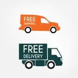 Camions de livraison Photo stock