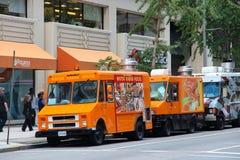 Camions de nourriture de Washington Photo libre de droits