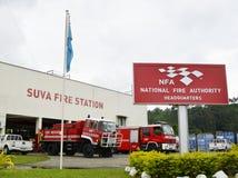 Camions de pompiers Photo libre de droits