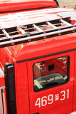 camions de pompiers Photos libres de droits