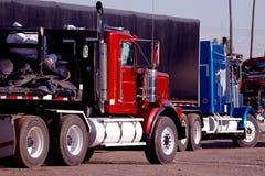 Camions en acier Image libre de droits