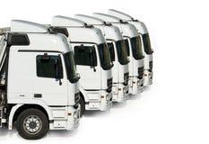 Camions garés photo stock