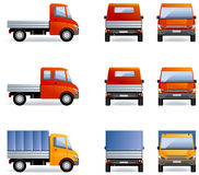 Camions légers Image stock