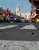 Camions stationnés Image libre de droits