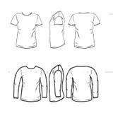 camisa stock de ilustración