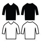 camisa ilustración del vector