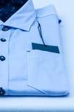 Camisa azul fotografía de archivo libre de regalías