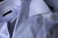 Camisa azul Imagen de archivo libre de regalías