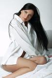 Camisa blanca de XXL Imagenes de archivo