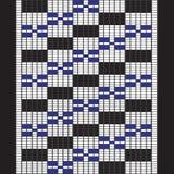 Camisa bordada con los cuadrados Imagen de archivo