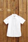Camisa branca Foto de Stock Royalty Free