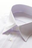 Camisa branca no fundo branco Imagem de Stock Royalty Free