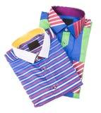 camisa camisa dos homens em um fundo Imagens de Stock