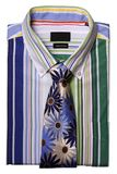 Camisa com um laço fotografia de stock royalty free