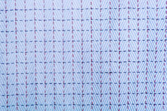 Camisa cuadrada azul Fotografía de archivo libre de regalías