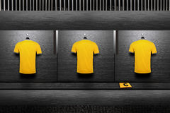 Camisa da equipa de futebol imagens de stock royalty free