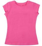 A camisa das mulheres isolada no fundo branco Imagem de Stock Royalty Free