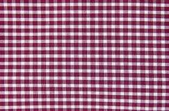 Camisa de algodão verific Foto de Stock Royalty Free