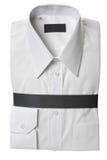 Camisa de alineada blanca Fotografía de archivo libre de regalías