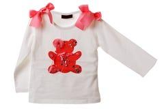 Camisa de blanqueo del bebé Imagen de archivo libre de regalías