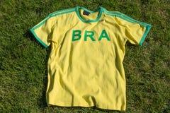 Camisa de Brasil Foto de Stock Royalty Free