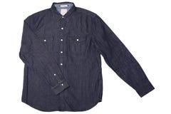 Camisa de Jean Fotos de archivo
