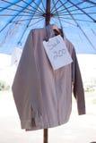 Camisa de la venta Imagen de archivo libre de regalías