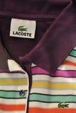 Camisa de Lacoste Foto de archivo