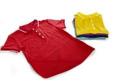 Camisa de polo Imagens de Stock Royalty Free