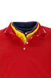 Camisa de polo del collar Imagenes de archivo