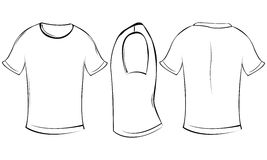 Camisa de T Foto de Stock Royalty Free