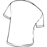 Camisa de T Imagem de Stock Royalty Free