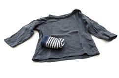 Camisa del bebé Fotografía de archivo libre de regalías