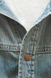Camisa del dril de algodón Fotos de archivo libres de regalías