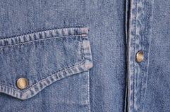Camisa del dril de algodón Fotografía de archivo libre de regalías