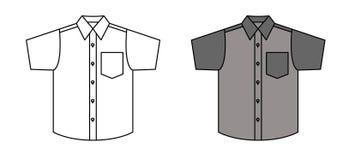 Camisa del vector Imagen de archivo
