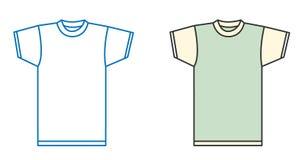 Camisa del vector Fotografía de archivo libre de regalías