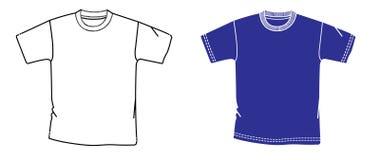 Camisa del vector Foto de archivo libre de regalías