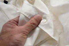 Camisa do homem Imagem de Stock