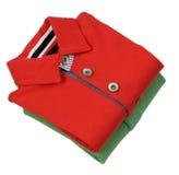 Camisa do ` s dos homens verdes e vermelhos Imagem de Stock Royalty Free