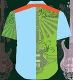 Camisa dos homens ilustração royalty free