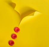 Camisa e botões abstratos Imagens de Stock