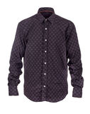 Camisa e laço em um fundo branco Fotos de Stock Royalty Free