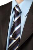 Camisa e terno do laço do negócio Fotografia de Stock