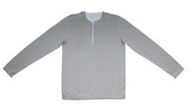 Camisa morna com luvas longas Fotos de Stock Royalty Free