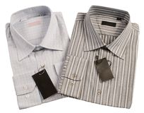 Camisa para el caballero. Fotografía de archivo