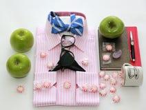 Camisa para hombre de la moda lifestyle Negocios Hombres Belleza y moda suposición Alta manera Foto de archivo libre de regalías